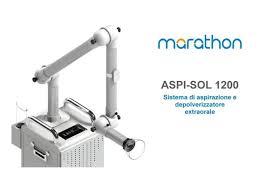 Lo Studio Dentistico Becarelli è dotato di MARATHON ASPI-SOL 1200 in grado di incanalare il flusso d'aria e particelle smosse (droplet) di saliva ed acqua ed aspirarle in un progressivo percorso a filtri
